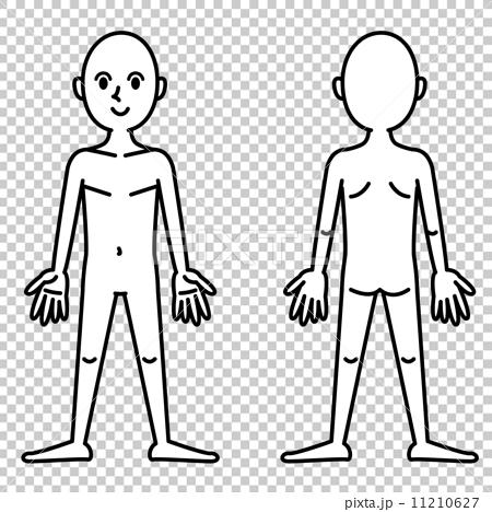 人体图1 _ B&W 11210627