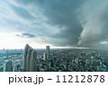 雨雲 ゲリラ豪雨 東京の写真 11212878