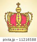 クラウン 冠 王冠のイラスト 11216588