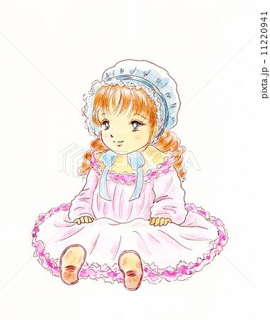 Dollのイラスト素材 11220941 Pixta