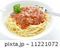 スパゲティー ミートソーススパゲティ パスタの写真 11221072