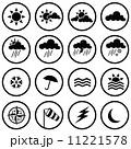 気象 ウォーター 天気のイラスト 11221578