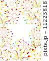 ベクター カラフル 花火のイラスト 11223818