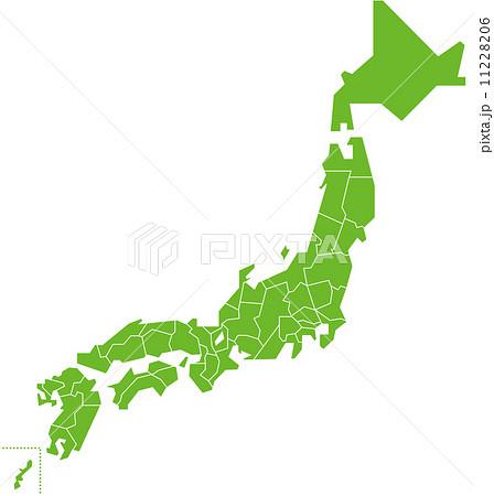 japan map  Vector 11228206