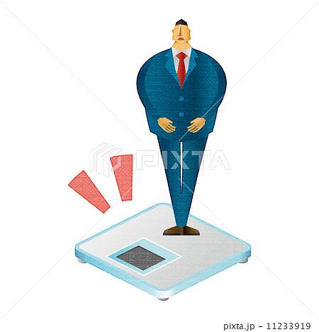 男性 メタボ 中肉中背 体重計 メタボリッ 11233919