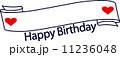 happybirthday ベクター ハッピーバースデーのイラスト 11236048