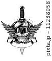 短剣 ナイフ 出刃のイラスト 11238958