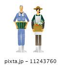 人物 農業 農家のイラスト 11243760