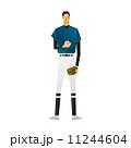 野球選手 ピッチャー スポーツ選手 投手 投球 11244604