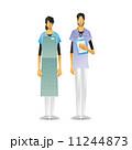 介護福祉士 ホームヘルパー ヘルパーのイラスト 11244873