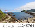 庄内海岸 由良海岸 海辺の写真 11245764