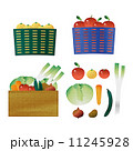 農産物 セット 収穫物のイラスト 11245928