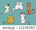 5匹の猫 11246362