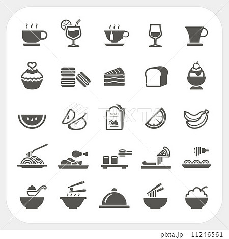 Food and Beverage icons set 11246561