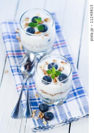 Blueberry yogurtの写真素材 [11249815] - PIXTA