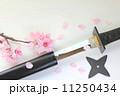 忍者刀 手裏剣 そして桜吹雪 11250434