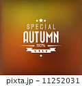 Autumn sale vector background 11252031