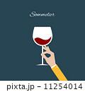 ぶどう酒 ワイン 葡萄酒のイラスト 11254014