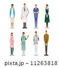 バリエーション 職業 人物のイラスト 11263818