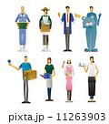 集合 農家 農業 農民 店員 販売員  11263903