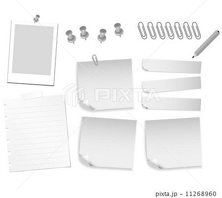Stationery Collection Vector  11268960