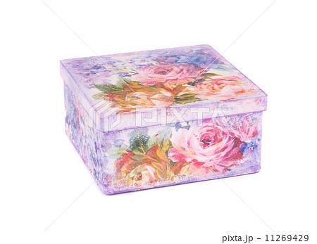 Decorated handmade gift box.の写真素材 [11269429] - PIXTA