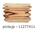 焼杉の飾り板 11277411