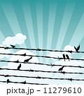 動物 鳥 翼のイラスト 11279610