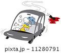 薬物中毒にも関わらず運転する男 11280791