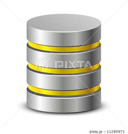 Database iconsのイラスト素材 [11280971] - PIXTA