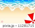 砂浜 11281715