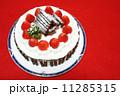 手作りのクリスマスケーキ 11285315