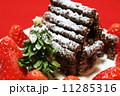 手作りのクリスマスケーキ 11285316