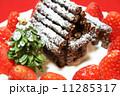 手作りのクリスマスケーキ 11285317