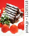 手作りのクリスマスケーキ 11285318