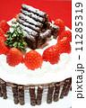 手作りのクリスマスケーキ 11285319
