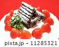 手作りのクリスマスケーキ 11285321