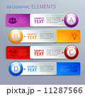 Paper infographics option banners 11287566