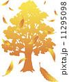 枯れ葉 ベクター 紅葉のイラスト 11295098