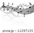 メロディ メロディー 旋律のイラスト 11297135