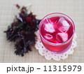 シソジュース 赤紫蘇ジュース 飲み物の写真 11315979