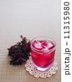 シソジュース 赤紫蘇ジュース 飲み物の写真 11315980