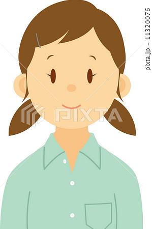 女子中学生のバストショット 11320076