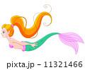 マーメイド マーメード 人魚のイラスト 11321466