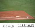 一塁 一塁ベース ベースの写真 11331083
