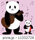 合奏 動物 パンダのイラスト 11332726