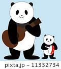 合奏 動物 パンダのイラスト 11332734