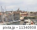 小舟 港 船の写真 11340938