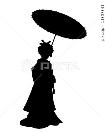 花嫁のシルエット 11357341