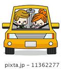 ドライブ ベクター 夫婦のイラスト 11362277